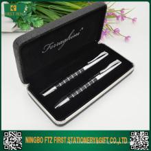 Prenda de caneta de metal elegante para homem de negócios