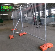 power coated galvanized temporary fence