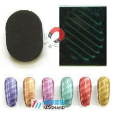 Magic Magnetic Nail Art Nail Magnet Ellipse Forme stripe oblique