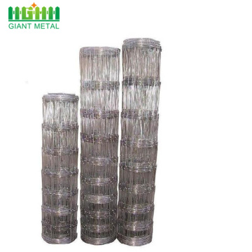 Hinge joint knot galvanized Farm field fence