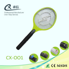 Durable Middle Yellow Net Electronic Mosquito Swatter