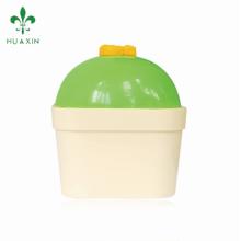 Envase de tarros de empaquetado de los cosméticos plásticos del ANIMAL DOMÉSTICO vacío caliente 100ml