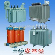 transformador de distribución inmerso en aceite de fase 3 de 20kV/11kV/33kV
