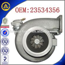 GT4502V / GT45V 23534356 S60550243G turbocompresseur pour Detroit Diesel Series 60