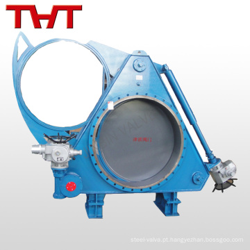 Válvula de válvula de válvula elétrica para gás de alto forno