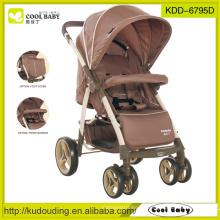 China Baby Kinderwagen Hersteller mit großen Aufbewahrungskorb