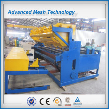 Square hole shape galvanised welded wire mesh machine