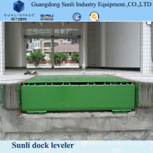 20t Manual Car Lift Platform Dock Loading Table Leveler