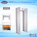 Detector de metais do quadro de porta da segurança aeroportuária da Multi-zona