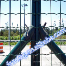 Hot Sale High quality Public grounds Galvanized/PVC Low carbon steel Euro fence