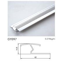 Anodizado Prata Alumínio Transição Trim