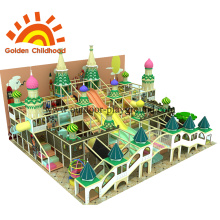 Christmas Style Indoor Playground Equipment en venta