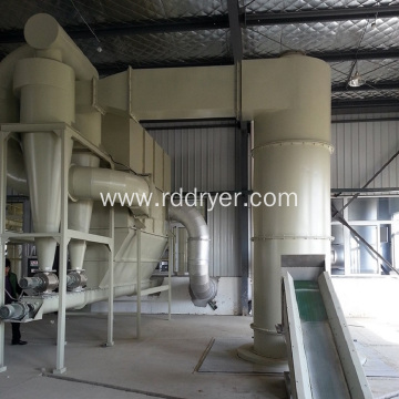 spin flash dryer machine for flame retardant