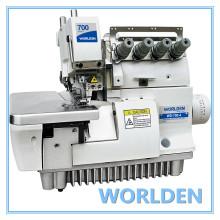 Máquina de costura Overlock WD-700-4/700-4 h quatro Thread