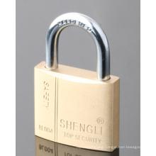 Brass Padlock Flat Keys