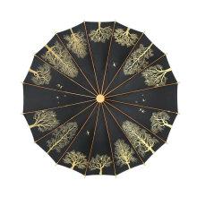 16K Custom Women Umbrellas Girls Travel Rain Waterproof Men Sun Parasol Convenient