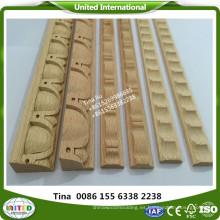 moldeado de haya de vapor artesanía de madera moldura decorativa
