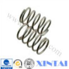 Resorte de compresión de acero de calidad para sistema de suspensión automática