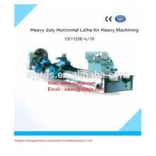 Torno horizontal de alta resistência e torno de máquinas horizontais de torno para venda