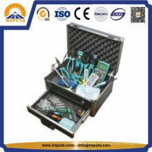 Алюминиевый кейс для хранения инструмента с ящиками (HT-2103)