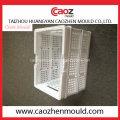 Plástico plegable Turn Over Box molde con tapa