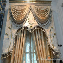 2015 hot sale royal & model fancy simple curtain design motorized curtain