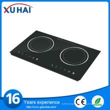 Champion Home Китайские встроенные 2 горелки Высококачественная индукционная плита Hotpot