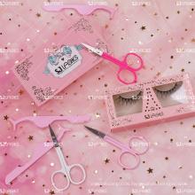 10D Reusable Siberian Mink Fur Eyelashes With Free Lash Branding Packaging Box Design Service Drop Shipping
