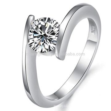 wholesale 18K diamond ring, 18k white gold for girls/women jewelry dj908