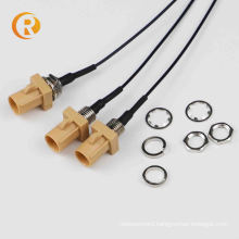 FAKRA Z to SMA male Connector with 15cm RG174 Cable