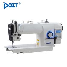 DT7903-K7 agulha única industrial elástica fechamento liso preço da máquina de costura