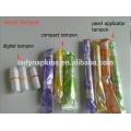 Verschiedene Größe billige natürliche Viskose Tampons guten Service für Jugendliche