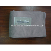 100% Polyester Acrylic Airplane Blanket with Flame Retardant