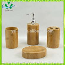 Keramik-Bambus-Bad-Set, luxuriöse Badezimmermöbel