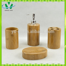 Набор из керамической бамбуковой ванны, роскошная мебель для ванной
