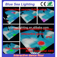 Sensitive removable DMX512 wholesale portable dance floor