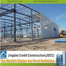 Bâtiment de fabrication en acier de structure pour l'entrepôt