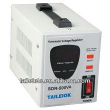 SDR Série totalmente automático regulador de tensão SDR-500VA 220vhome estabilizador de tensão