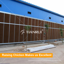 Équipement industriel de hangar de contrôle d'environnement de volaille d'usine