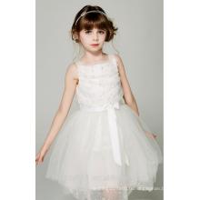Robe de soirée pour les filles de 2 à 12 ans, encolure dégagée, robes de bébé sans manches ED768