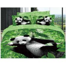 100% Baumwolle 40s 133 * 72 reaktive gedruckte 3d Großhandel Bettwäsche