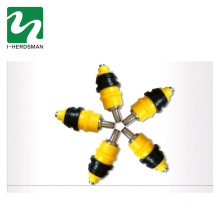 Poultry drinker for chicken nipple drinker and feeder for poultry equipments