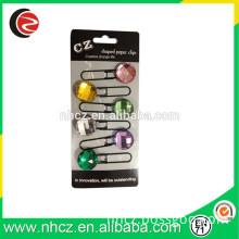 Round Shape Colorful Acrylic Gift Bookmark
