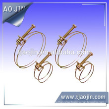 zinc-plated wire clamp with screw