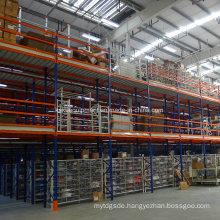Steel Multi-Tier Shelving for Industrial Warehouse Storage