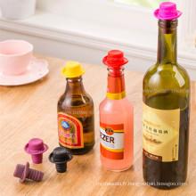 Le meilleur bouchons en caoutchouc personnalisés de bouteille de vin pour le cachetage