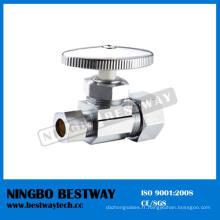 Robinet d'arrêt d'angle de compression multi-tour en laiton chromé (BW-A46)