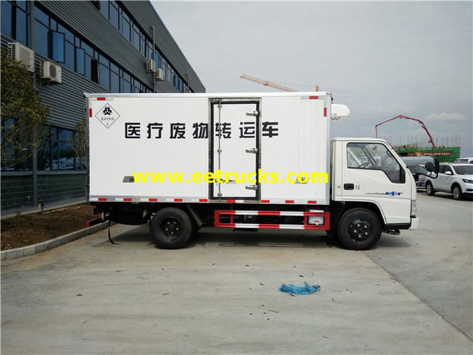 2T Medical Waste Refrigerated Trucks