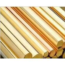 Tige en laiton hexagonale et barre de cuivre octogonale, ISO