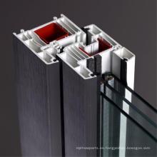 Perfil de marco de ventana uPVC